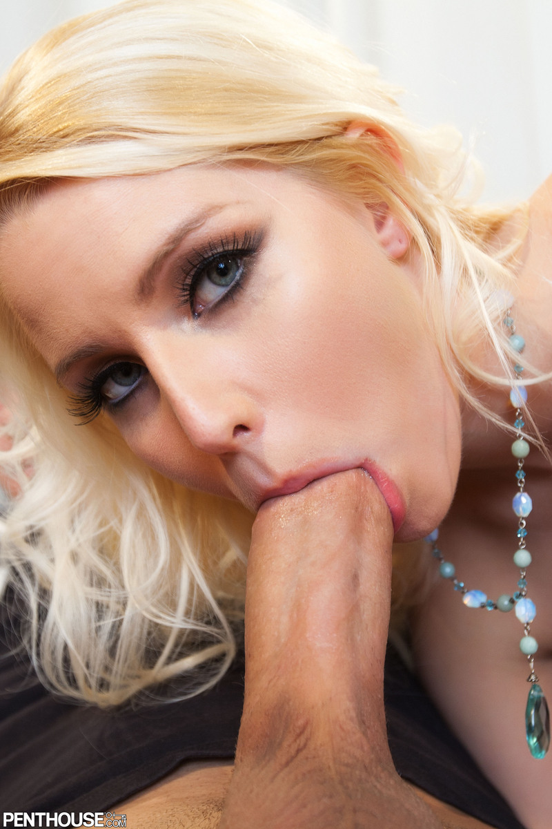 Excited Penthouse vanessa cage blowjob consider